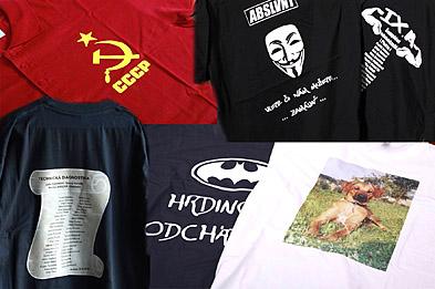 eaf991773239 POTLAČ A NAŽEHLOVAČKY... ...na tričká